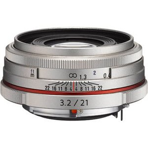 PENTAX/ペンタックス  HD PENTAX-DA 21mmF3.2AL Limited(シルバー) 薄型広角レンズ|murauchi3