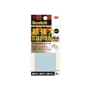 3M/スリーエムジャパン  スコッチ 両面テープ あとからはがせる超強力プレミアゴールド 幅15x5...