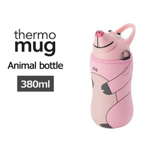 thermo mug/サーモマグ  アニマルボトル ピンク AM1838