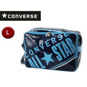 CONVERSE/コンバース  C1612052-2922 エナメルショルダーバッグ 【L】 (ネイ...