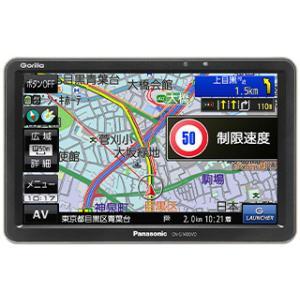 Panasonic パナソニック  CN-G1400VD SSDポータブルカーナビゲーション 7V型ワイド 16GB Gorilla ゴリラ|murauchi3