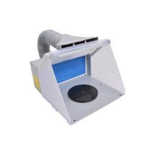 THANKO サンコー  換気扇の無い場所で臭いを強制排出!LEDライト付パワフルファン塗装ブース BRUSHBT4|murauchi3