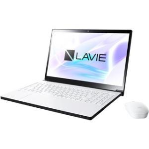 NEC  Office搭載15.6型ノートPC (Core i7/1TB HDD/DVD) LAVIE Smart NEXT PC-SN187AEAC-8 グレイスホワイト|murauchi3