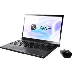NEC  Office搭載15.6型ノートPC (Core i7/1TB HDD/DVD) LAVIE Smart NEXT PC-SN187BEAC-8 グレイスブラック|murauchi3