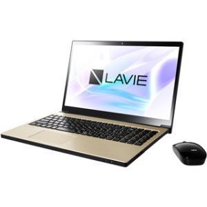 NEC  Office搭載15.6型ノートPC (Core i7/1TB HDD/DVD) LAVIE Smart NEXT PC-SN187DEAC-8 グレイスゴールド|murauchi3