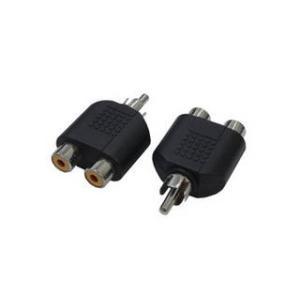 変換名人 変換名人 AVプラグ RCA(メス)2P to RCA(オス)モノラル AV/RCA2J-RCAPM(2P)