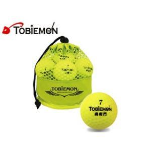 TOBIEMON/トビエモン  TBM-2MBY メッシュバッグ入り 2ピースゴルフボール 【12個入】 (イエロー) murauchi3