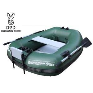 Doppelganger OUTDOOR/ドッペルギャンガー DFB101 バスフローターボート(1名用)≪釣り・フィッシングやレジャーに!≫(グリーン)