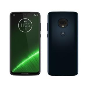 Motorola/モトローラ  6.24型SIMフリースマートフォン Moto G7+ PLUS プラス PADU0003JP ディープインディゴ|murauchi3