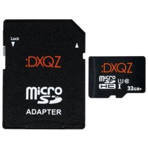 ダダンドール  microSDHCカード 32GB Class10 UHS-I U1 :DXQZ DDMS032G01 ※SDカードアダプタ付き|murauchi3