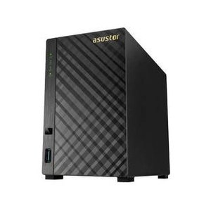 ASUSTOR アサスター 2ベイNASケース デュアルコア GbE USB 3.1 Gen-1 AES-NIハードウェア暗号化 AS1002T v2の商品画像|ナビ