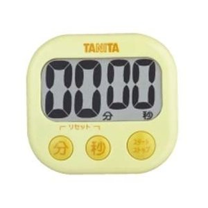 TANITA/タニタ  TD-384-YL でか見えタイマー (イエロー)