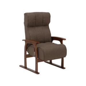 HAGIHARA/ハギハラ【メーカー直送代引不可】  座椅子 ブラウン LZ-4303BR|murauchi3