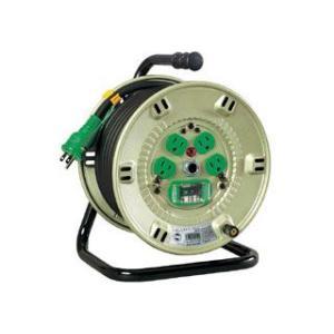 NICHIDO/日動工業  100V漏電遮断器付電工ドラム NP-EB24 (ポッキンプラグ付 単相100V)|murauchi3