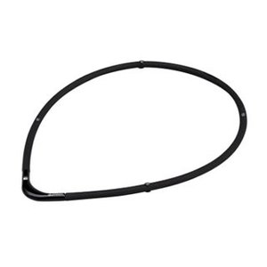 PHITEN/ファイテン  0215TG677052 RAKUWA磁気チタンネックレス S-II【45cm】(ブラック×ブラック)|murauchi3