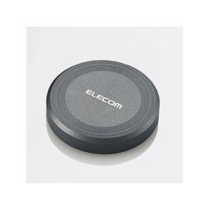ELECOM/エレコム  【在庫限り!】置くだけ!手軽で簡単ワイヤレス充電!Qi対応ワイヤレス充電器 ブラック W-QA01BK|murauchi3