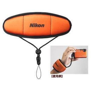 Nikon/ニコン  【納期3ヶ月かかります】FTST1(オレンジ) フロートストラップ|murauchi3