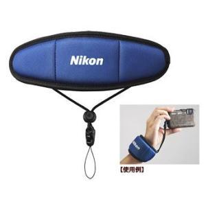Nikon/ニコン  FTST1(ブルー) フロートストラップ|murauchi3