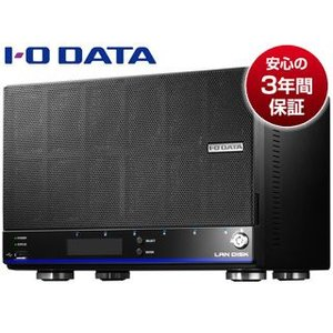 I・O DATA/アイ・オー・データ  WD Red 6基&高速CPU搭載 仮想ファイルシステム「拡張ボリューム」採用高信頼ビジネスNAS 6TB HDL6-H6 murauchi3