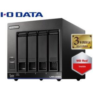 I・O DATA/アイ・オー・データ  LinuxベースOS搭載 WD Red採用法人向け4ドライブスタンダードビジネスNAS 4TB HDL4-X4 murauchi3
