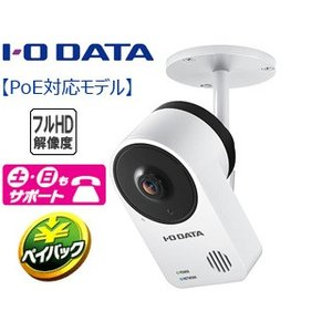 I・O DATA アイ・オー・データ  納期未定 防塵・防水規格IP65準拠屋外用PoE給電対応ネットワークカメラ Qwatch(クウォッチ) TS-NA220|murauchi3