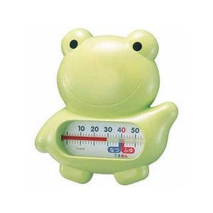 EMPEX  EMPEX 浮型 湯温計 うきうきトリオ カエル TG-5146 グリーン