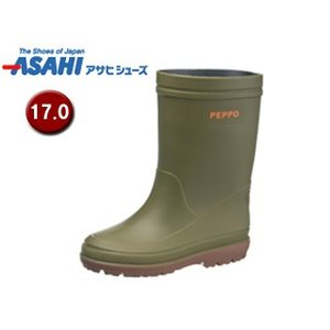 ASAHI/アサヒシューズ  KL38893-1 ペポ 144 キッズレインブーツ 【17.0cm・...