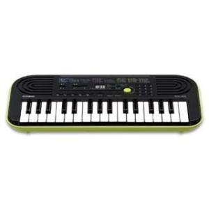 CASIO/カシオ  ミニキーボード SA-46 (SA46)10曲ソングバンク内蔵 32鍵のミニ鍵盤(楽譜つき)