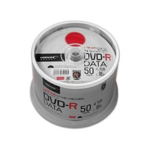 HIDISC/ハイディスク  【TYコードシリーズ】DVD-R データ用 16倍速 4.7GB スピンドル 50枚 TYDR47JNP50SPMG|murauchi3