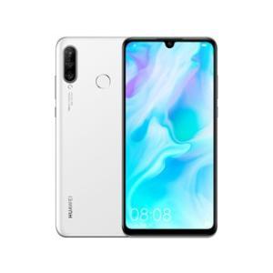 HUAWEI/ファーウェイ  6.15型SIMフリースマートフォン HUAWEI P30 lite/Pearl White/51093NRV パールホワイト|murauchi3