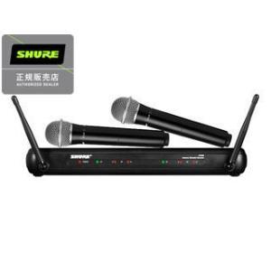 SHURE/シュアー  SVX288/PG28 ツインボーカル・ラップ対決向けワイヤレスシステム(マイク2本モデル) murauchi