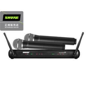 SHURE/シュアー  SVX288/PG58 ツインボーカル・ラップ対決向けワイヤレスシステム(マイク2本モデル) murauchi