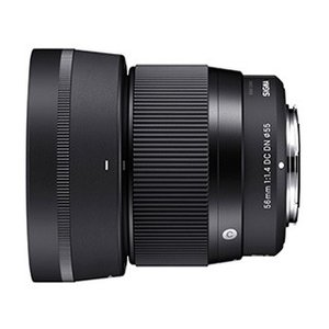 Sony Eマウント/ミラーレス一眼カメラ専用レンズ  56F1.4DCDNCon 小型軽量かつ高画...
