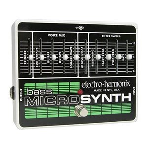 【nightsale】 electro harmonix/エレクトロハーモニクス  Bass Micro Synthesizer アナログシンセサイザー ベース用|murauchi