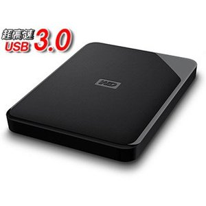 WESTERN DIGITAL ウエスタンデジタル  USB3.0対応ポータブルハードディスク WD...
