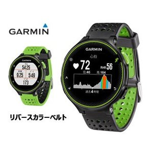 GARMIN/ガーミン  37176K ForeAthlete235J/フォアアスリート235J ランニングウォッチ (BlackGreen) murauchi