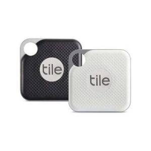 Tile  『忘れ物防止タグ』 Tile Pro Black&White(電池交換版)コンボパック ...