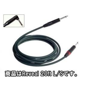 EVIDENCE AUDIO/エビデンス・オーディオ  【RVRS20】 Reveal 20ft L/S (リヴィールシリーズ/楽器用シールドケーブル) 6m|murauchi