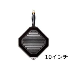 フィネックス  フィネックス キャストアイアン グリルパン 10インチ G10-10001(蓋無) murauchi