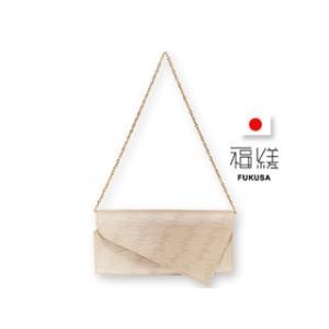 福縒/ふくさ  ショルダークラッチ■日本製/牛革&金襴バッグ【KASURE-カスレ-】FS-003-2|murauchi