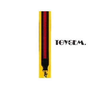 TOYGEM/トイジェム  ショルダーベルト【グリーン】ライン■幅5cmのワイドショルダー|murauchi