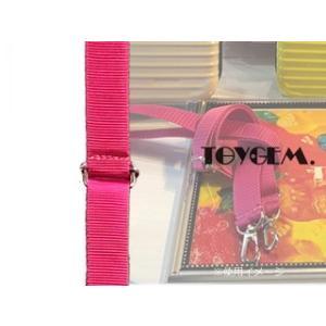 TOYGEM/トイジェム  ショルダーベルト【ピンク】■Color Shoulder Belt|murauchi