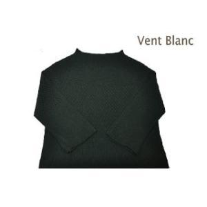 vent blanc/ ヴァンブラン  VK183770 日本製 ホールガ−メントボトル プルオーバー 【グリーン】|murauchi