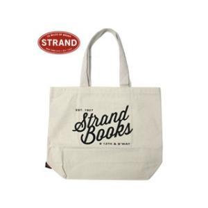 STRAND/ストランド  トートバッグ【ホワイト】■Lサイズロゴトート■STRAND/ストランド|murauchi