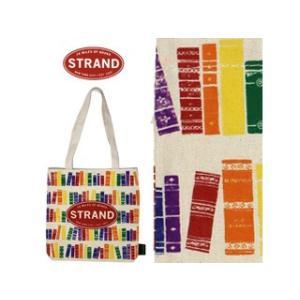 STRAND/ストランド  トートバッグ【ホワイト/BOOK本】■マチなし■STRAND/ストランド murauchi