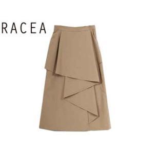 RACEA/ラシア  ラッフルフリルロングスカート 【ベージュ】 20310409 |murauchi