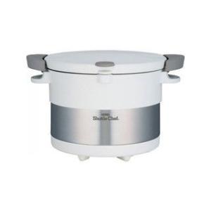 THERMOS/サーモス  真空保温調理器 シャトルシェフ(20cm・3l)/ピュアホワイト|murauchi