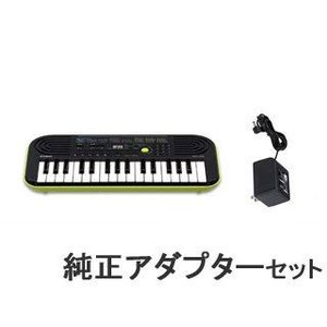 CASIO/カシオ  ミニキーボード SA-46 (SA46)電源アダプターセット!|murauchi