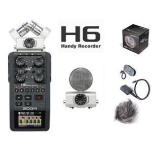 【nightsale】 ZOOM/ズーム  【H6 + H6用アクセサリーキット】Handy Recorder H6 (H-6)&APH-6 murauchi