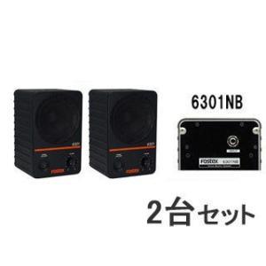 FOSTEX/フォステクス  【2台セット!】アクティブ・モニタースピーカー 6301NB|murauchi